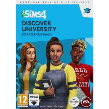 Допълнение към игра The Sims 4 - Discover University, за PC image
