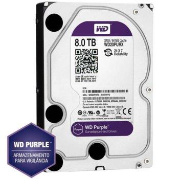 8TB WD Purple WD80PURZ product
