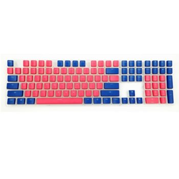 Ducky Pudding Red & Blue 108-Keycap Set PBT US product