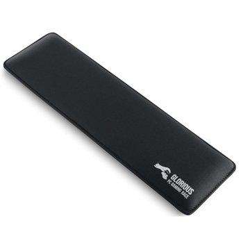 Подложка за китки Glorious Slim GSW-87, tenkeyless, за механични клавиатури, черна, 360 x 100 x 17 mm image