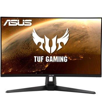 """Монитор ASUS TUF Gaming VG27AQ1A, 27"""" (68.58 cm) IPS панел, 170 Hz, WQHD, 1ms, 1000:1, 250 cd/m2, DisplayPort, HDMI image"""