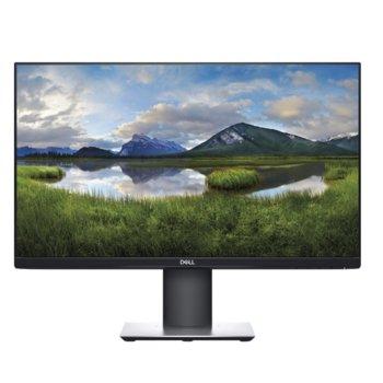 """Монитор Dell P2421DC, 23.8"""" (60.45 cm) IPS панел, QHD, 5ms, 300cd/m2, DisplayPort, HDMI, 1x USB Type-C, 4x USB 3.0  image"""