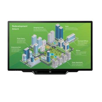 "Интерактивен дисплей Sharp PN80TH5, 80"" (218.44 cm), Ultra HD touchscreen дисплей, LAN, VGA, HDMI, DisplayPort, USB, RS232 image"