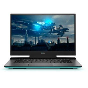 "Лаптоп Dell G7 7700 (DIG77700I716G1T1660TI144_WINP-14), шестядрен Comet Lake Intel Core i7-10750H 2.6/5.0 GHz, 17.3"" (43.94 cm) Full HD Anti-Glare 144Hz Display & GTX 1660Ti 6GB, (mDP), 16GB DDR4, 1TB SSD, 1x Thunderbolt 3, Windows 10 Pro image"