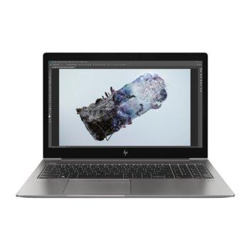 "Лаптоп HP ZBook 15U G6 (4YW45AV_31751732)(сребрист), четириядрен Whiskey Lake Intel Core i7-8565U 1.8/4.6 GHz, 15.6"" (39.62 cm) Full HD Anti-Glare Display & Radeon Pro WX 3200 4GB, (HDMI), 16GB DDR4, 512GB SSD, 1x Thunderbolt 3, Windows 10 Pro image"