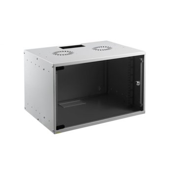 Комуникационен шкаф Mirsan MR.SOH07U40DE.02, 7U, 535 x 300x 350 mm, D=400 мм, бял image