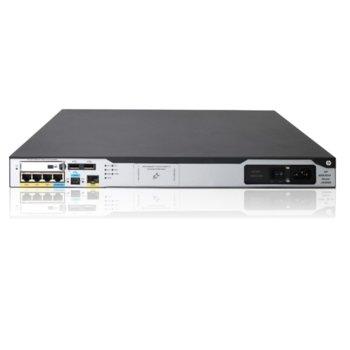 Рутер HPE MSR3024 JG406A, 1x SFP 10/100/1000 Mbps, 3x WAN 10/100/1000 Mbps, 2x USB Type A, 1x micro USB, 2GB DDR3 SDRAM image