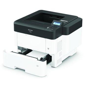 Лазерен принтер RICOH P 800, монохромен, 1200 x 1200 dpi, 55 стр/мин, LAN, USB, А4 image