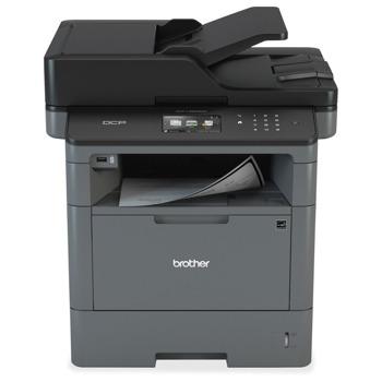 Мултифункционално лазерно устройство Brother DCP-L5500DN, монохромен принтер/копир/скенер, 1200x1200 dpi, 40стр/мин, LAN, USB, ADF, двустранен печат, A4 image