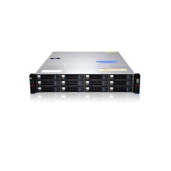 "Кутия Gooxi RMC2112-670-HSE-R800, 2U Rack Mount, 12x 3.5""/2.5"" SATA/SAS Hot Swap, 800W 80+ Platinum захранване image"