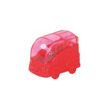 Острилка Mikto Tiko 539, с контейнер, червена image
