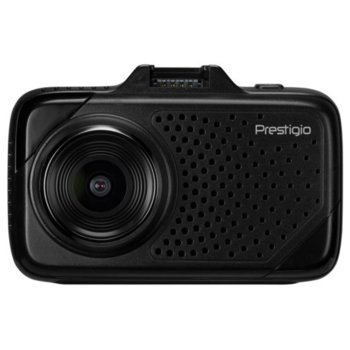 "Видеорегистратор Prestigio PRS700GPSCE, камера за автомобил, SHD 2304x1296/30fps, Full HD 1920x1080/30fps, 2.4"" (6.1 cm), вграден микрофон, вграден детектор за радари, microSD, micro USB image"