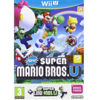 Игра за конзола New Super Mario Bros. + New Super Luigi Bros, за Wii U image