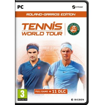 Игра Tennis World Tour - Roland-Garros Edition, за PC image