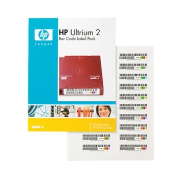 Хартия HP LTO2 Ultrium Bar Code label pack (110 pack) image