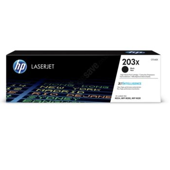 Касета за HP Color LaserJet Pro M254nw, M254dw, MFP M280nw, MFP M281fdn, MFP M281fdw - 203X - Black - P№ CF540X - 3 200k image