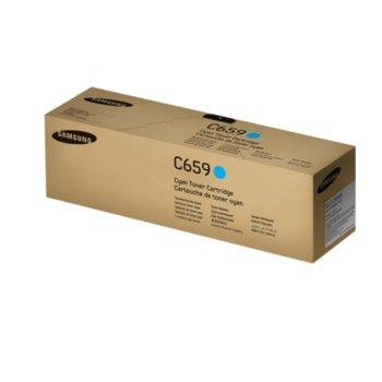 Касета за Samsung CLT-C659S - SU093A - Cyan - заб.: 20000k image