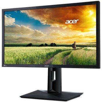 """Монитор 24"""" (60.96 cm) Acer CB241Hbmidr (UM.FB6EE.045), TN панел, Full HD, 1 ms, 100 000 000:1, 250 cd/m2, HDMI, DVI, D-Sub image"""