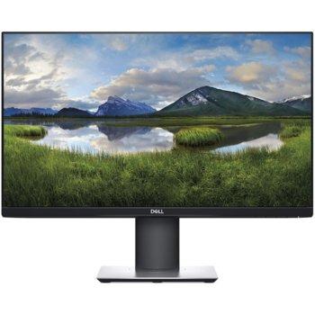 """Монитор Dell P2419H, 23.8""""(60.45 cm) IPS панел, Full HD, 5ms, 1000:1, 250cd/m2, DisplayPort, HDMI, VGA, USB image"""