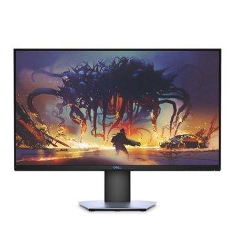 """Монитор Dell S2419HGF, 24"""" (60.96 cm) TN панел, Full HD, 144 Hz, 1ms, 8000000:1, 350cd/m2, Display Port, HDMI, USB image"""