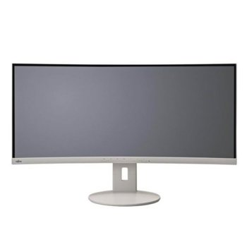 "Монитор Fujitsu B34-9 UE (B349UDXMG1EU), 34"" (86.3 cm) IPS Curved панел, QHD, 5 ms, 20000000:1, 300 cd/m2, DisplayPort, HDMI, USB image"