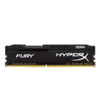 Памет 16GB DDR4 2666MHz, Kingston HyperX FURY Black HX426C16FB3/16, 1.2 V image