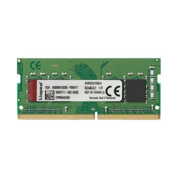 Памет 4GB DDR4 2666MHz, SO-DIMM, Kingston, KVR26S19S6/4, 1.2V image