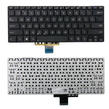 Клавиатура за лаптоп Asus S301, S301L, S301LA, S301LP, черна, без рамка, (малък Enter) image