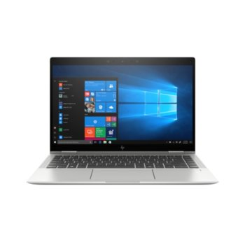 "Лаптоп HP EliteBook x360 1040 G6 (7KN79EA_W3K09AA)(сребрист) с подарък слушалки HP, четириядрен Whiskey Lake Intel Core i7-8565U 1.8/4.6 GHz, 14.0"" (35.56 cm) Full HD IPS Touchscreen Display, (HDMI), 16GB DDR4, 512GB SSD, Windows 10 Pro image"