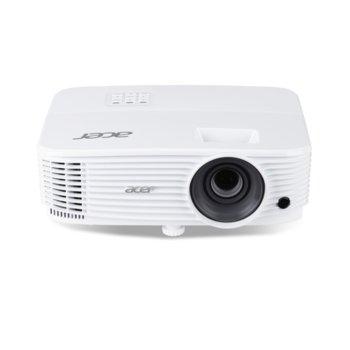 Проектор Acer P1355W, DLP, 3D, WXGA (1280x800), 20000:1, 4000lm, HDMI, VGA, USB, LAN image