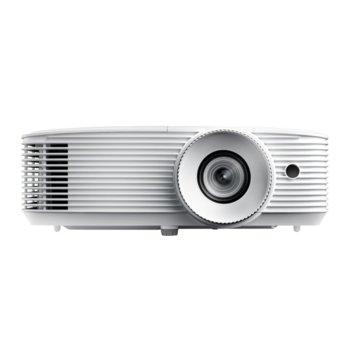 Проектор Optoma HD27e, DLP, Full HD (1920x1080), 25 000:1, 3400 lm, HDMI, USB image