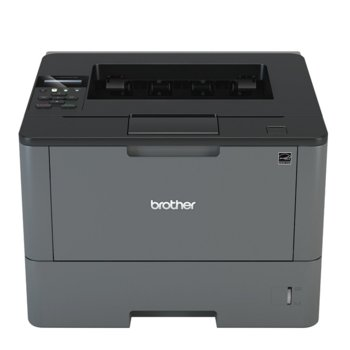 Лазерен принтер Brother HL-L5100DN, монохромен, 1200x1200 dpi, 40стр/мин, двустранен печат, LAN, USB, A4, 2+1 г. image