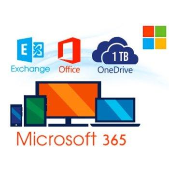 Софтуер Microsoft 365 Business Premium, 1 потребител, 1 месец, български, за Windows/macOS/Apple iOS и Android image
