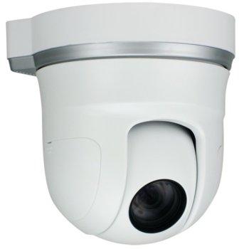 IP камера Hunt HLT-S30/22X, куполна, PTZ, 1.3 Mpix(1280x800@30FPS), 4.7~103.4mm моторизиран обектив 22x optical zoom, H.264/M-JPEG/MPEG4, PoE, безжична 802.11b/g, Micro SD card image