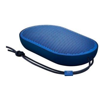 Тонколона Bang & Olufsen Beoplay P2, 2.0, 30W (2x 15W), Bluetooth 4.2, синя, до 10 часа време за работа, вграден микрофон image