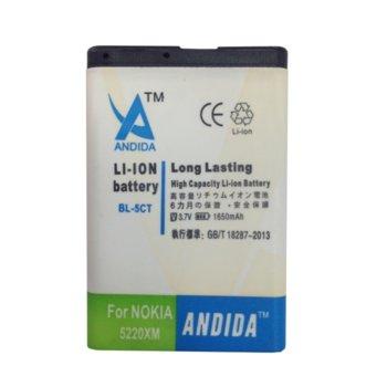 Батерия (заместител) за Nokia 6303 -5CT, 1650mAh/3.7V image