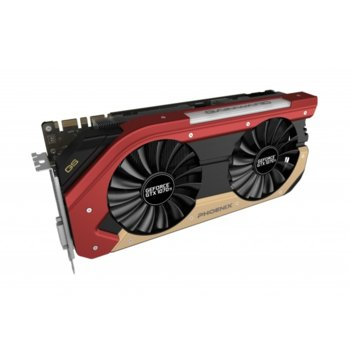"Видео карта Nvidia GeForce GTX 1070 Ti, 8GB, Gainward GeForce GTX 1070 Ti Phoenix ""GS"", PCI-E 3.0, GDDR5, 256 bit, 3x Display Port, 1x HDMI, 1x DVI image"