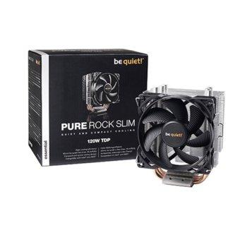 Охлаждане за процесор Be Quiet Pure Rock Slim, съвместимост с Intel: 1150 / 1151 / 1155 / 1156 AMD: AM2 (+) / AM3 (+) / AM4 / FM1 / FM2 (+) image