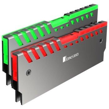 Пасивно охлаждане за RAM памет, Jonsbo NC-2, RGB, 2 броя image