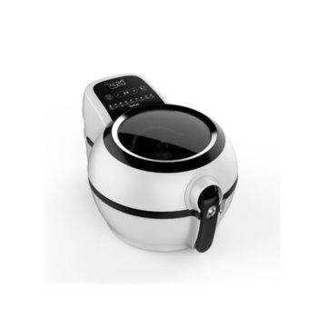 Фритюрник Tefal ActiFry GENIUS FZ760030, вместимост 1.2 кг., LCD екран, автоматично спиране, 1350 W, бял  image