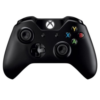 Геймпад Microsoft Xbox One Wireless Controller, безжичен контролер + сваляем кабел за PC, Bluetooth, за PC/Xbox One, черен image