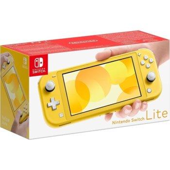 Портативна конзола Nintendo Switch Lite, жълта image