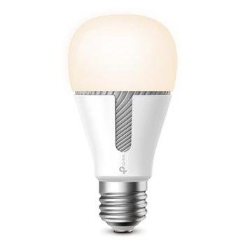 Смарт крушка TP-Link Kasa Smart KL120, E27, 800lm, 2700K-6500K, Wi-Fi, бяла image