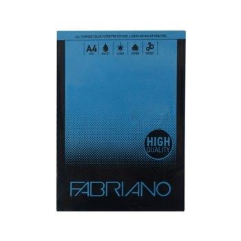 Копирна хартия Fabriano Copy Tinta, A4, 80 g/m2, тъмносиня, 50 листа image