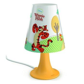 LED настолна лампа Philips Disney Winnie The Pooh, ключ за вкл./изкл. върху кабела, 2,3 W крушка, 220 lm, 220V image