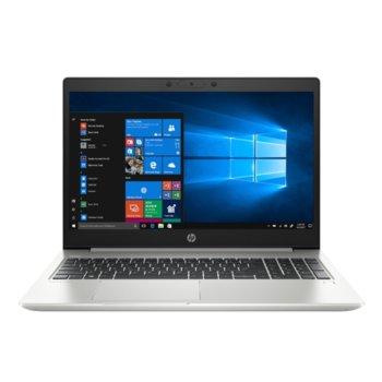 "Лаптоп HP ProBook 455 G7 (1L3H0EA)(сребрист), осемядрен AMD Ryzen 7 4700U 2.0/4.1GHz, 15.6"" (39.62 cm) Full HD Anti-Glare Display, (HDMI), 8GB DDR4, 512GB SSD, 1x USB 3.1 Type-C, Free DOS image"