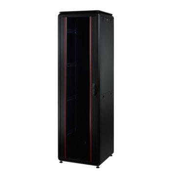 Комуникационен шкаф Mirsan MR.GTV42U68.01, 42U, 610 x 800 x 2053, черен image