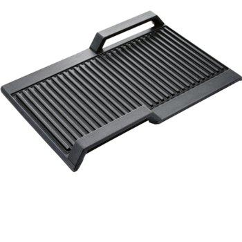 Скара за индукционен плот Bosch HEZ390522, 37 x 25 cm, черна image