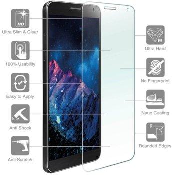 Протектор от закалено стъкло /Tempered Glass/, 4smarts, Samsung Galaxy A7 (2017) (смартфон) image