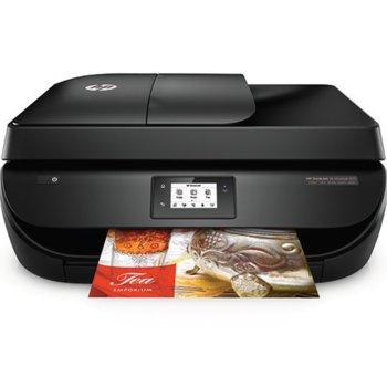Мултифункционално мастиленоструйно устройство HP DeskJet Ink Advantage 4675, цветен принтер/копир/скенер/факс, 1200 x 1200 dpi, 9,5 стр/мин, Wi-Fi, USB, ADF, двустранен печат, A4 image